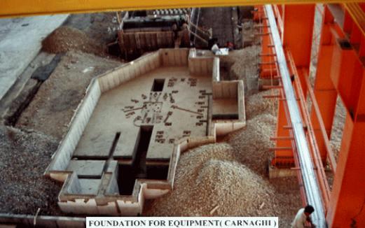 عملیات ساختمانی سالن های تولید کارخانه شرکت توربین گازی ایران(توگا)