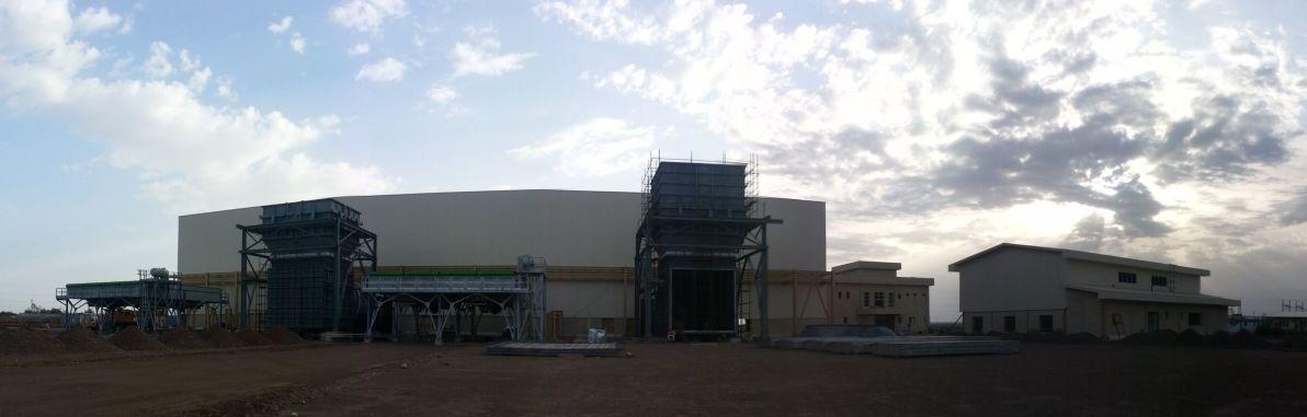 عملیات ساختمانی نیروگاه گازی ایرانشهر