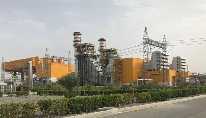 عملیات ساختمانی نیروگاه گازی کهنوج