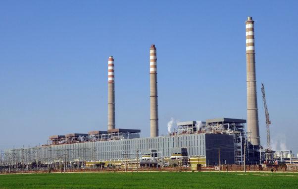 عملیات ساختمانی نیروگاه رامین اهواز