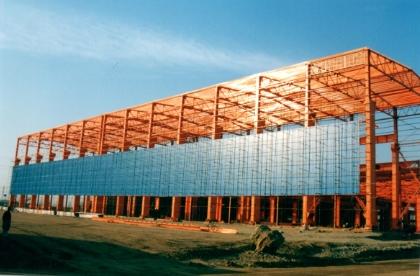 عملیات ساختمانی پروژه پره توربین