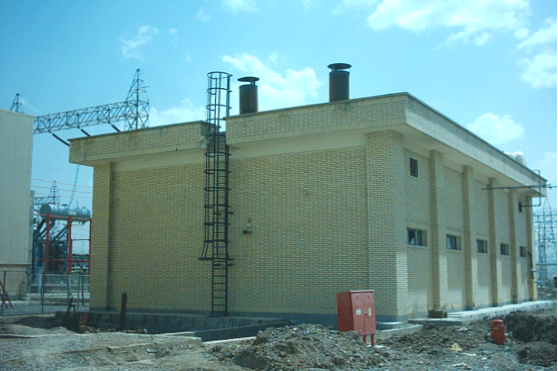 ساختمان موتورخانه